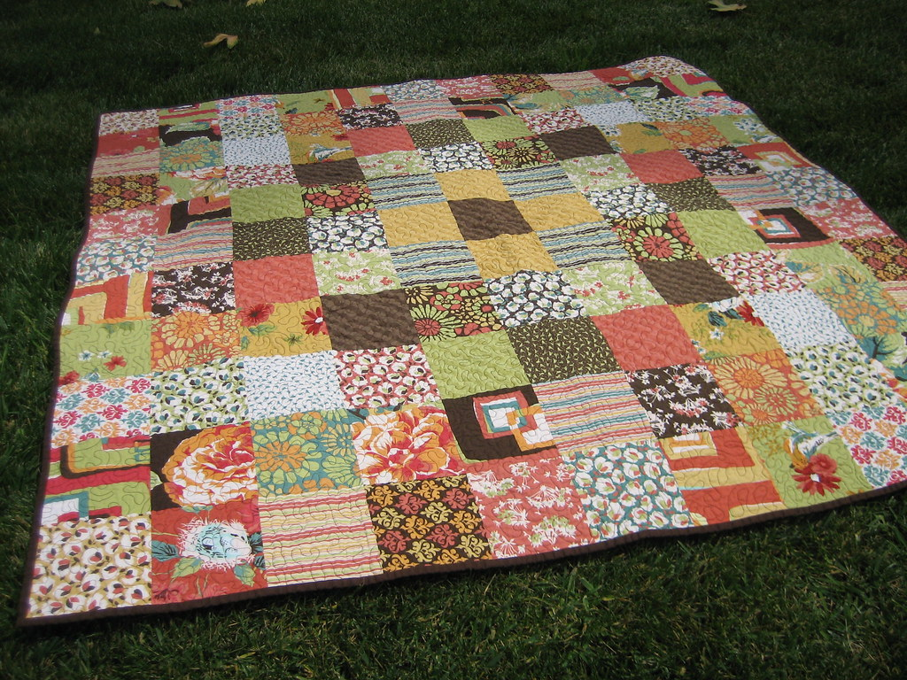Birthday Quilt - top