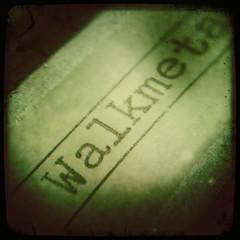 Walkmetal (BlazerMan) Tags: macro metal analog wow walkman label magnifyingglass mixtape 3g tape 80s 1984 1986 1985 cassette reel thd flutter iphone johnslens jewelersloupe hipstamatic floatfilm walkmetal