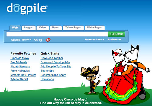 Cinco De Mayo on DogPile