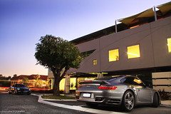 Porsche 997 911 Turbo Coupes (Coconut Photography) Tags: 911 australia turbo porsche western claremont 997 coupes