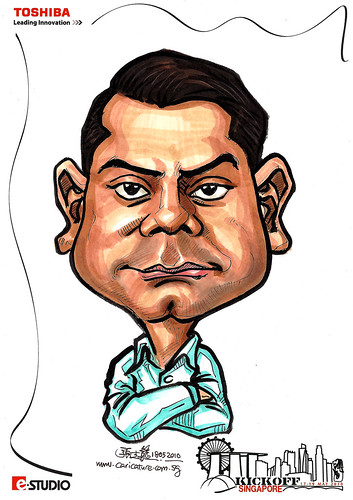 Caricature of Amitesh