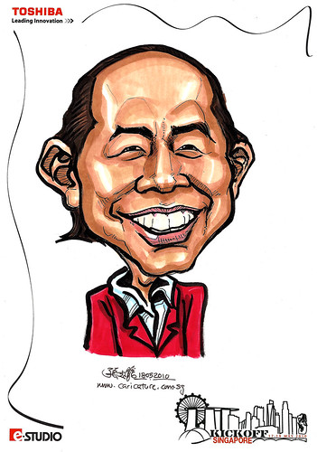 Caricature of CK Chong