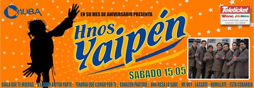 Hnos. Yaipén - Onuba Disco San Borja