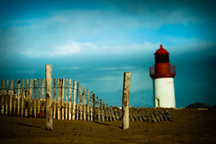 Lighthouse on Oleron island, France