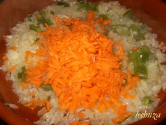 Chipirones con arroz-añadir sofrito