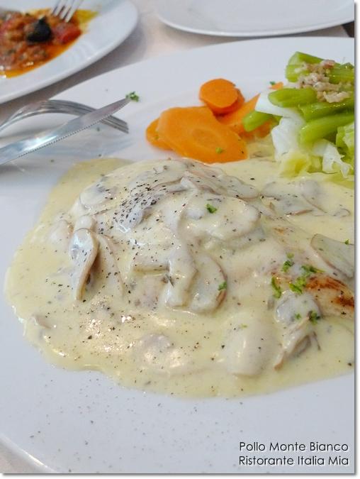 Pollo Monte Bianco