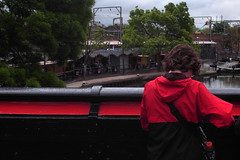 . (Ed') Tags: bridge red colour london ed candid camdentown bustamante yesiknow shotsofbacksareboring