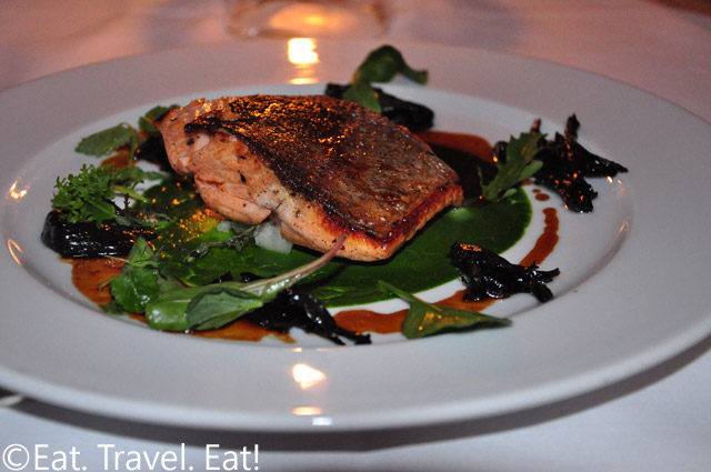 Oven Roasted Pacific Salmon with Flash