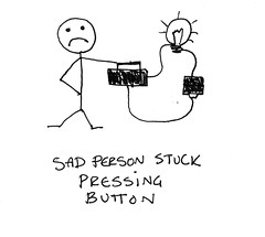 Sad Button Presser