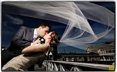 Long Island Rock Stars (Ryan Brenizer) Tags: wedding portrait woman newyork man love groom bride nikon kiss longisland d3 weddingphotography strobist bridgeviewyachtclub removedfromstrobistpool incompletestrobistinfo seerule2 24mmf14g