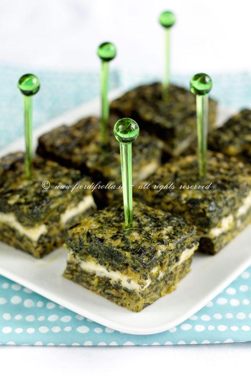 Sformato di spinaci alla bolognese con sottilette Le Cremose