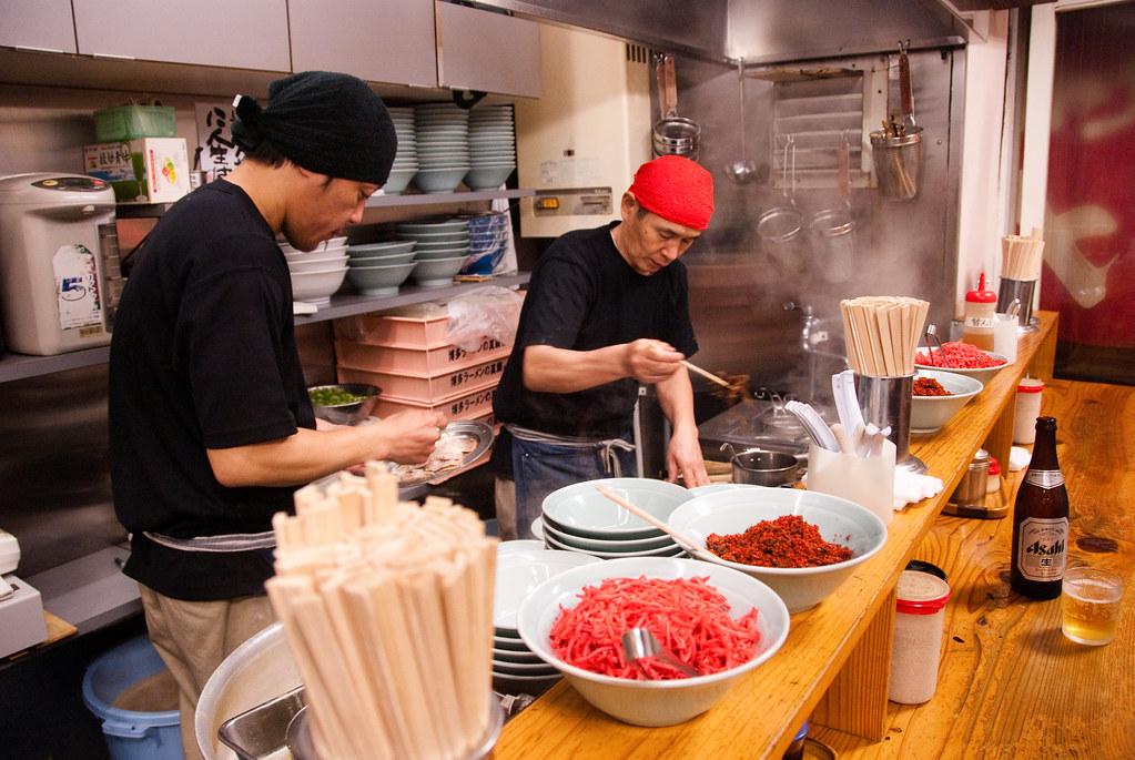 ramen making