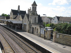 Stamford Station from The Bridge