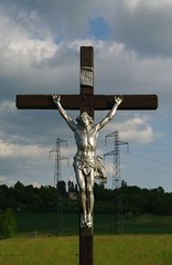 PAYSAGE CRUCIFIE 1(Crucified landscape).