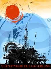 (freestylee) Tags: ocean america poster louisiana gulf cleanup gas rig oil bp spill lng epa exxon michaelthompson