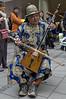 Ökumenischer Kirchentag 2010 - München - Musikant aus der Mongolei