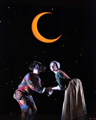 Moonlit Romance--Truffaldino, Smeraldina