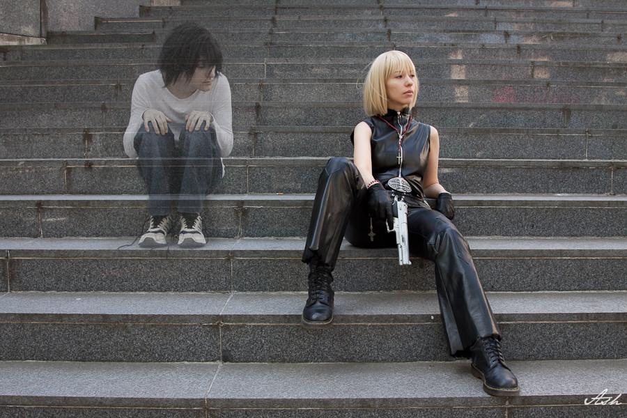 Death Note - L and Mello