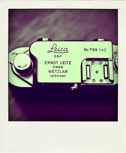 Leica IIIF Poladroid