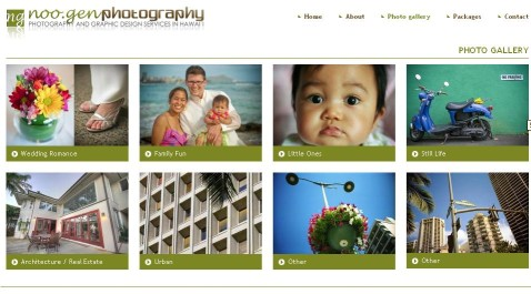 Drupal photography site Noogen | Galleries