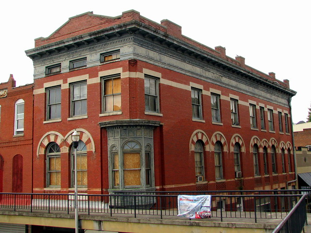 Architecture of Morristown: Unnamed conrner building