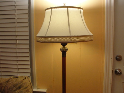 gifted floor lamp