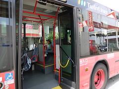 P1010327 (ryoki) Tags: bus vehicle fujisawa shonandai twinliner kanachu articulatedbus byrika risei photobyrika kanachubus ツインライナー kanagawachuo かなちゅうバス 湘25系統 連接バス 連節バス