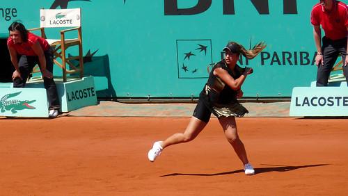 Aravane Rezai - Aravane Rezai - 1er tour de Roland Garros 2010 - tennis french open