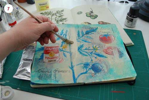 Step 7: Paint over with acryl
