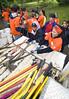 Beaver volunteers