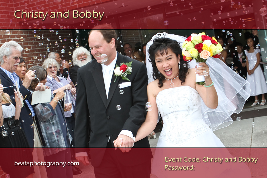 The Wedding of Christy and Bobby