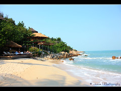 Beach @ Six Senses Hideaway Samui ( Janine ) Tags: sea vacation water canon thailand eos hotel january resort kohsamui samui accommodation kosamui bophut picnik 2010 suratthani trulyasia 450d earthasia sixsenseshideaway totallythailand sixsenseshideawaysamui asalaproperty