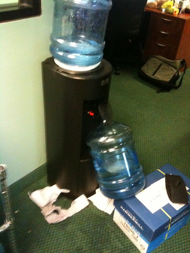 Water Cooler Flood at RB
