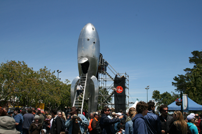 Maker Faire Rocketship