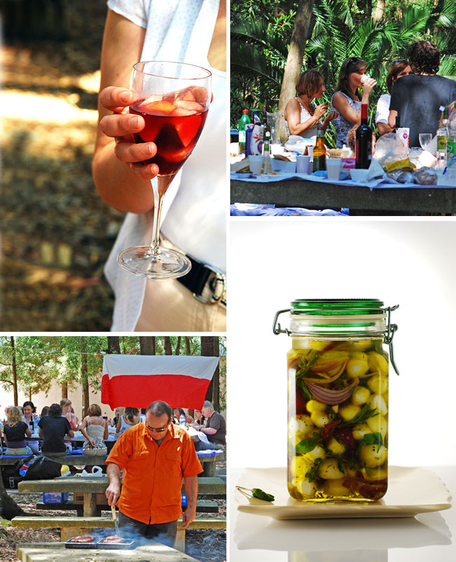 """Polish + friends culinary picnic"" we organized in Porto"