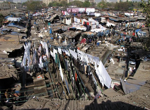 Dhobi Ghat (Open Air Laundry)