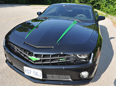 "Black 2010 Camaro Gets Some Synergy Green Color • <a style=""font-size:0.8em;"" href=""http://www.flickr.com/photos/85572005@N00/4645363322/"" target=""_blank"">View on Flickr</a>"