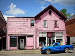 West Virginia ~ Middlebourne (erjkprunczk) Tags: pink abandoned shop truck closed tyler business westvirginia storefront dodge middlebourne erjkprunczyk wv18