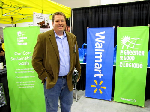 Vancouver Convention Centre EPIC Expo,  Andrew Telfer at Walmart talks sustainability that the giant consumer good seller is doing