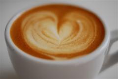 Cortado Love (Lameen) Tags: cup coffee beans capetown espresso crema latteart arabica cortado lamarzocco nikond60