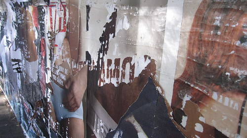 Peeling posters