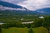 Turquoise river (Karmen Smolnikar) Tags: trees mountains grass clouds river slovenia slovenija soca soča kobarid yourwonderland