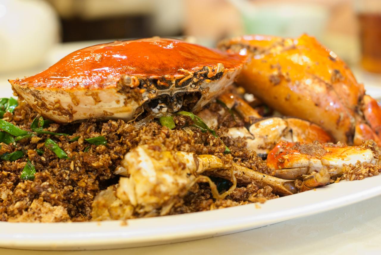 Typhoon Shelter Crab