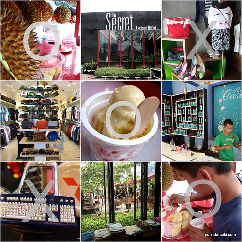 tic tac toe - durian ice cream still the best