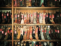 (icolorinthelines) Tags: store cowboy texas boots fort sale tx historic shelf worth fortworth stockyards