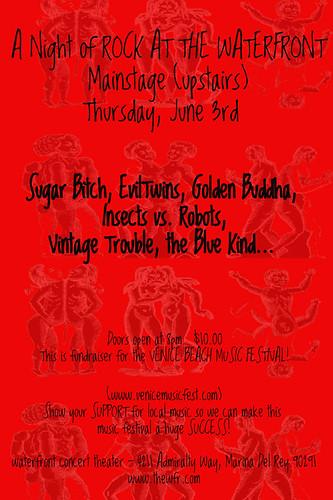 Venice Beach Music Fest Flier