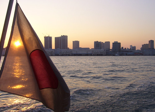 Sunset on the Sumida River
