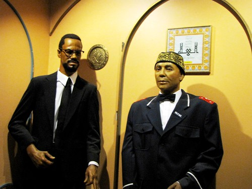 Malcom X and Elijah Muhammad