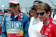 Jeff Gordon, Rick Hendricks and Ray Evernham 1996: NASCAR Photography By Darryl Moran