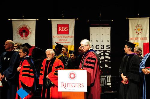 Rutgers University 2010 毕业典礼